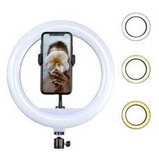 Кільцева світлодіодна Led Лампа 26 см (3 режими світла, регулювання яскравості) Ring Light