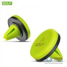 Магнітний автотримач GOLF GF-CH02 Car Holder Black/Green