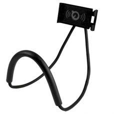Гнучкий тримач на шию для смартфона/планшета/електронної книги Epik Black