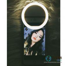 Светодиодное Кольцо (Вспышка) Для Фото Selfie Light Ring White