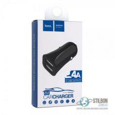 Автомобільний зарядний пристрій (АЗП) Hoco Z12 elite Dual USB 2.4A