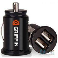 Автомобільний зарядний пристрій GRIFFIN 2 USB 3.1А