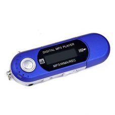 MP-3 Плеєр Epik LCD USB (FM Програвач/Micro SD) + Навушники Blue