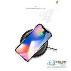Беспроводное зарядное устройство Usams Round Wireless Fast Charging 10W (US-CD30) QI (индукционный)