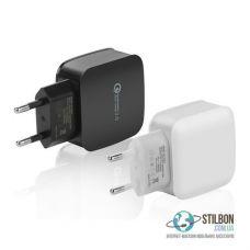 Мережевий зарядний пристрій Qualcomm Quick Charge QC3.0