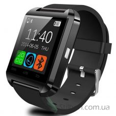 Розумний годинник Smart watch U8 чорний
