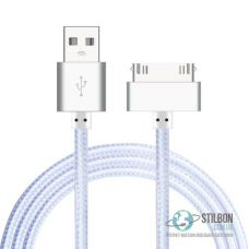 Suptec 30 pin USB кабель для Apple iPhone 3GS/4S iPad iPod 1м