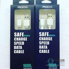 Кабель Rock Lightning Flat Data Cable 1M