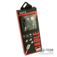 USB 3.0 Type C - Магнітний конектор дата-кабель 2.1А Fast Charge