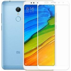 Захисне скло Toto 5D Full Cover для Xiaomi Redmi 5 Plus White
