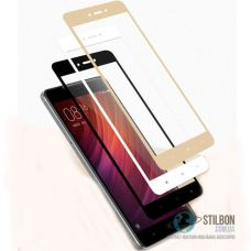 Захисне скло для Xiaomi Redmi 4X Full Glue 5D
