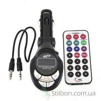FM-трансмітер (FM-модулятор) AUX USB MMC MicroSD з пультом д/у