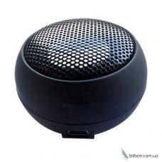 Портативна міні-аудіо-колонка сферична чорна