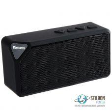 Портативна Аудіо-колонка Bluetooth/AUX/TF-card/FM X3 Black
