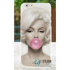 Чохол для Apple iPhone 4 4S Пластик Marilyn Monroe (Чехол Накладка)