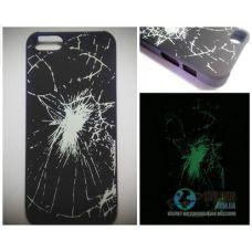 Чохол Apple iPhone 5 5S SE Світиться в Темряві Crash Soft-Touch Пластик (Чехол Накладка)