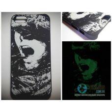 Чохол Apple iPhone 5 5S SE Світиться в Темряві Girl 01 Soft-Touch Пластик (Чехол Накладка)