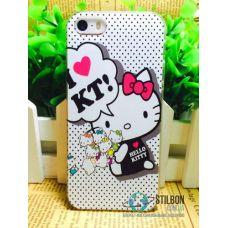 Чохол-Накладка Apple iPhone 5 5S SE Hello Kitty 01 Пластмасса (Чехол)