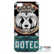 Чохол-Накладка Apple iPhone 5 5S SE Panda Rotec Пластмасса (Чехол)