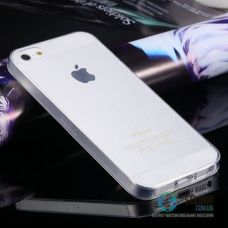 Чохол для Apple iPhone 5 5S SE Ultra-Slim Прозорий Силікон (Чехол)