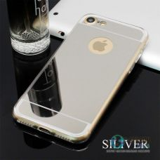 Чохол Apple iPhone 6 6S Mirror Silver Силікон (Чехол)