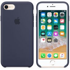 Панель Apple Silicone Case для Apple iPhone 7/8 Midnight Blue