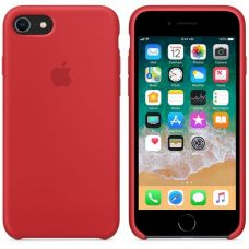 Панель Apple Silicone Case для Apple iPhone 7/8 Red