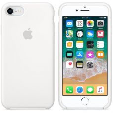 Панель Apple Silicone Case для Apple iPhone 7/8 White