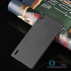 Чохол Huawei P7 Ultra-Slim Black Пластмаса (Чехол)