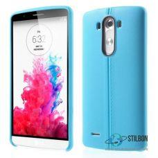 Чохол LG G3 D855 D858 D859 Шкіра Blue Soft TPU (Чехол)