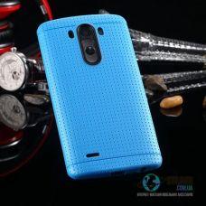 Чохол LG G3 D855 D858 D859 Soft TPU Blue Силікон (Чехол)