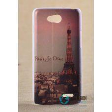 Чохол-Накладка LG L90 D405 D415 Paris Пластмасса (Чехол)