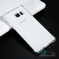 Броньований Чохол Samsung Galaxy Note 7 Slim Прозорий Силікон (Чехол)