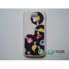 Чохол-Накладка Samsung Galaxy S4 Mini Vinil Пластмаса (Чехол)