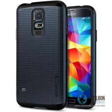 Броньований Чохол Samsung Galaxy S5 i9600 G9000 SPIGEN SlimArmor Black (Чехол)