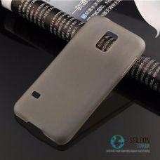 Чохол для Samsung Galaxy S5 Mini Super-Slim Gray Пластик (Чехол Накладка)