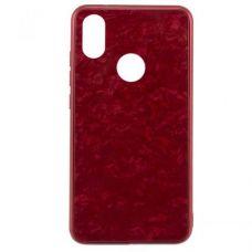 Чохол для Xiaomi Mi 8 Mocolo Мрамор Червоний