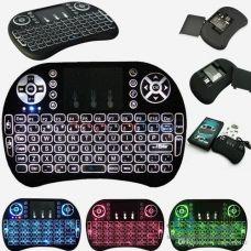 Беспроводная мини-клавиатура i8 с подсветкой Mini Keyboard LED