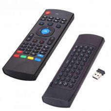Пульт аеро миша з клавіатурою і гіроскопом Air Mouse MX3 Black