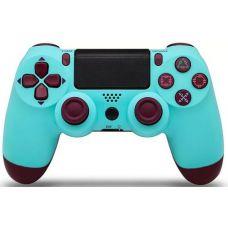 Геймпад Dualshock 4 Bluetooth для Sony Playstation 4 PS4 Бирюзовый (Berry Blue)