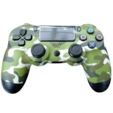 Геймпад джойстик Epik Doubleshock 4 для PS4 Green Cammo