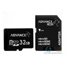 Накопичувальна Карта Пам'яті Advance 32GB microSDXC Class 10 UHS-I