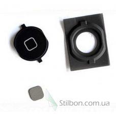 Кнопка home для Apple iPhone 4S black