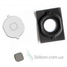 Кнопка home для Apple iPhone 4S white