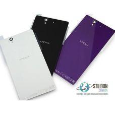 Задня кришка для Sony Xperia Z L36h Black/White/Purple