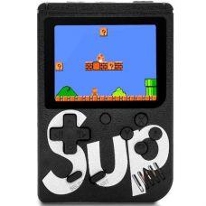 Портативна ігрова Ретро приставка 400 ігор dendy денді SEGA 8bit SUP Game Box Чорна