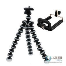 Штатив для смартфона и экшн-камеры Octopus MTS2 Black