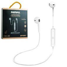 Спортивные Bluetooth-Наушники Remax Hi-Fi Sport CD-03 White