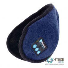 Зимові Bluetooth-навушники гарнітура Blue