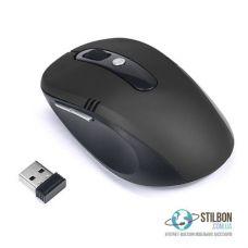 Беспроводная оптическая компьютерная USB-мышка 2100DPI Black